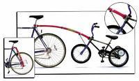 Vodící tyč na dětské kolo, Trail Gator, kompletní