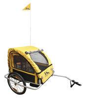 Dětský vozík - za jízdní kolo, Al rám
