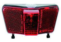 Zadní světlo na nosič, na dynamo,+kondenzátor, LED