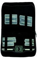 Nářadí- závitníky M4,5,6,8,10 + 2sady na pedály