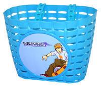 Košík dětský na řídítka plast.- modrý