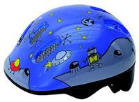 Přilba dětská SPACE, 50-57, s kolečkem, reflexní