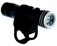 Světlo přední M-WAVE 2fce, 8white LEDs, red Laser