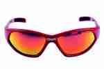 Brýle MIGHTY dětské, červené obrouč,Iridium coated