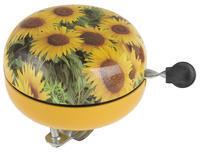"""Zvonek větší RETRO design """"slunečnice"""", průměr 80m"""