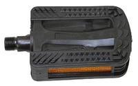 Pedály MTB plast protiskluzové+kuličk.lož.