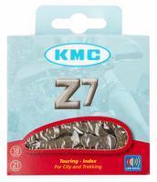 """Řetěz KMC Z7,6/7spd 116čl,1/2""""x 3/32""""-7,3mm+spojka"""