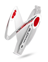 Košík RaceOne X5 gelový bílý/červený