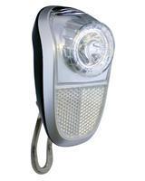 Přední světlo LED,bílá, 2fce,držák,baterie