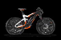 HAI-17,AllMtn 8.0,500Wh,bílá/černá/oranžová mat