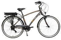 E-kolo EcoBike, City-M, 250W, 10.4 Ah, šedá, Do vyprodání zásob - SLEVA 10%