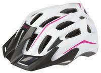 Přilba MIGHTY HAWK,MTB i silniční, bílá/pink