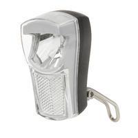 Přední světlo LED bílá, 2fce,držák,baterie