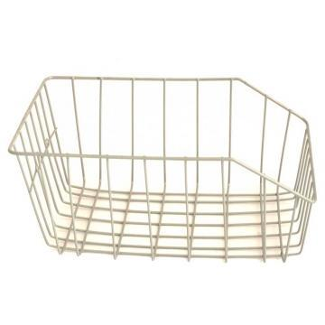 Košík na nosič stříbrný MARIA,26x40x17-šdv