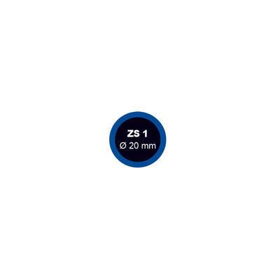 Záplata ZS 1 průměr 20mm