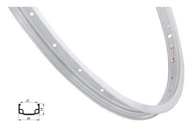 Ráfek RMX 406x20-L, Natural povrch, 36děr