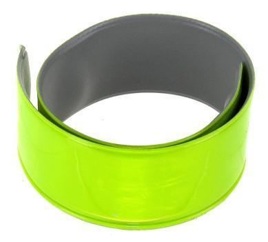 Reflexní páska, 30x340mm, žlutý neon, 2ks, blistr