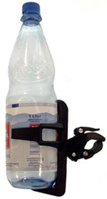 Košík na PET láhve plast-černý