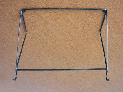 Držák kola na stěnu- horní rám.trubka