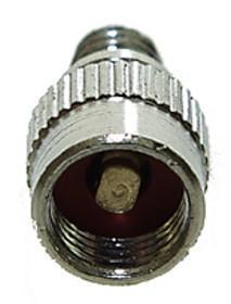 Redukce z AV na Dunlop, šroubovací, s kuličkou