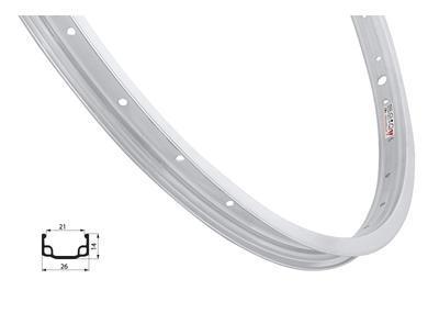 Ráfek RMX 406x20-L, Natural povrch, 28děr