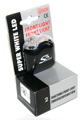 Světlo blik.přední 1Led bílá ,S-bike, SLEVA
