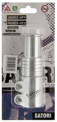 """Adaptér 1 1/8"""" -stříbr. pro zvýšení A-head předst"""