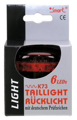 Světlo blik.zadní SMART 6LED, voltage indicator