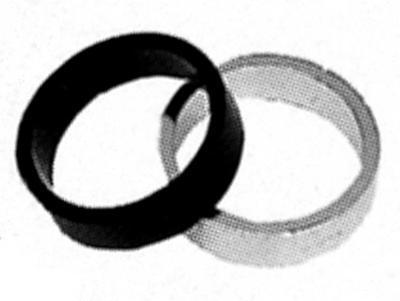 "Podložka Al, 1 1/8"", 5mm, stříbrná"