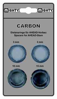"""Podložka Carbon, 1 1/8"""", 3/10/15mm-cena za sadu"""