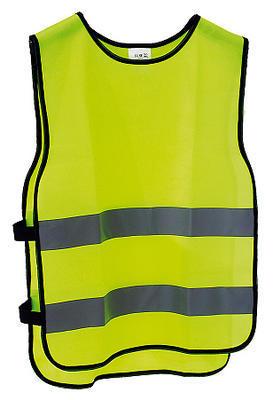 Vesta bezpečnostní žlutá, reflexní pruh, M/L