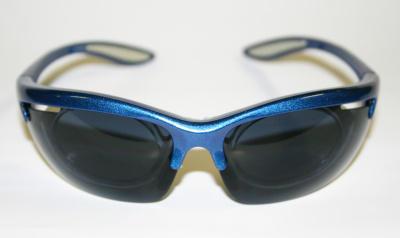 Brýle cyklistické modré, s dioptrickou vložk.- AGC