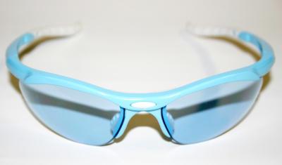 Brýle cyklistické modro/ bílé LADY +2skla, AGC