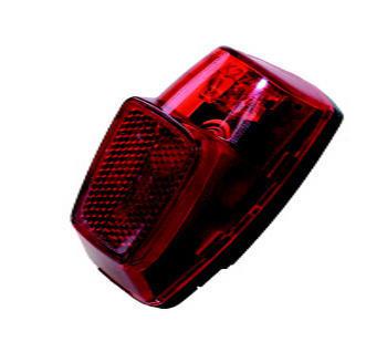 Zadní světlo na dynamo + 1xLED, +kondenzátor