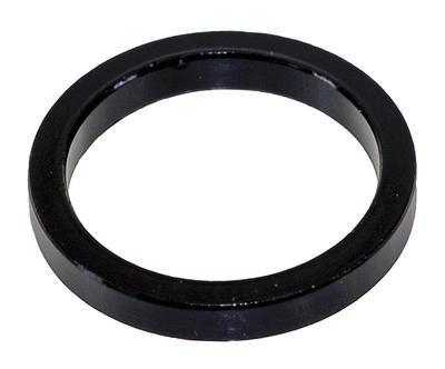 """Podložka Al, 1"""", 5mm, černá"""