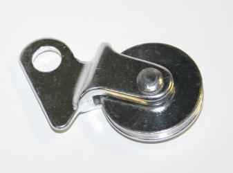 Kladka s úchytem Al, stříbrná, (10ks=30% sleva)