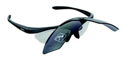 Brýle MIGHTY dioptrické, obal+ náhr.sklo, antracit