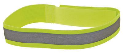 Reflexní páska,suchý zip, stříbr.3M,2ks, blistr