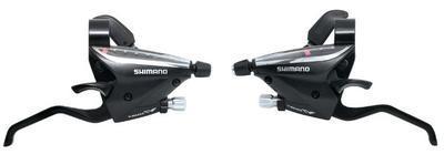 Řadící/brzd. páky ST-EF510, 7-kol., stříbrné, L+P