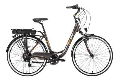 E-kolo EcoBike, City-L, 250W, 10.4 Ah, šedá, Do vyprodání zásob - SLEVA 10%