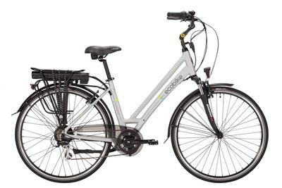 E-kolo EcoBike, Holland7s Acera,250W, 10.4 Ah,šedá, Do vyprodání zásob - SLEVA 10%